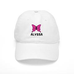 Butterfly - Alyssa Baseball Cap