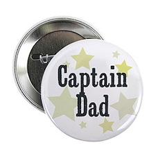 "Captain Dad 2.25"" Button"