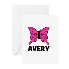 Butterfly - Avery Greeting Cards (Pk of 10)
