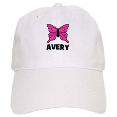 Butterfly - Avery Baseball Cap