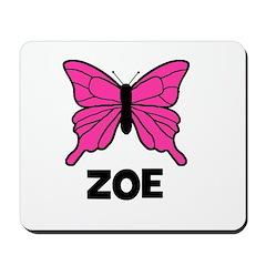 Butterfly - Zoe Mousepad