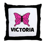 Butterfly - Victoria Throw Pillow