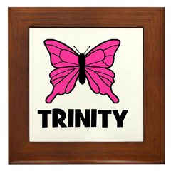Butterfly - Trinity Framed Tile