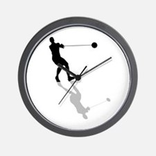 Hammer Throw Wall Clock