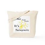 Twingenuity Tote Bag
