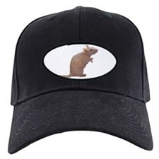 Curly - the Hairless Rat Baseball Hat