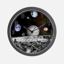 Funny Nebula nebulae orion pink space space exploratio Wall Clock
