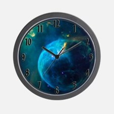 Cool Nebula nebulae orion pink space space exploratio Wall Clock