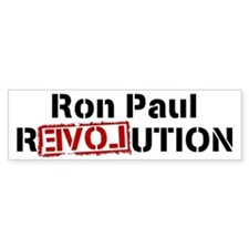 Ron Paul REVOLUTION Bumper Bumper Sticker