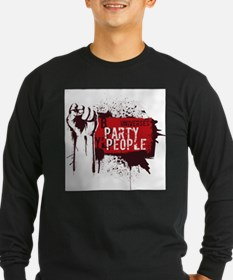 Party People illustration.jpg Long Sleeve T-Shirt