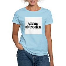 """""""Eschew Obfuscation"""" T-Shirt"""