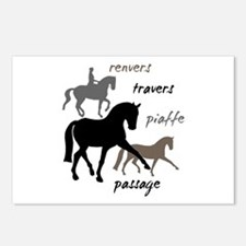 Dressage Movements Trio Postcards (Package of 8)