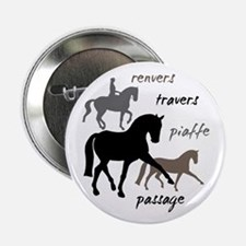 "Dressage Movements Trio 2.25"" Button"