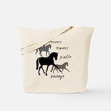 Dressage Movements Trio Tote Bag