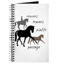 Dressage Movements Trio Journal