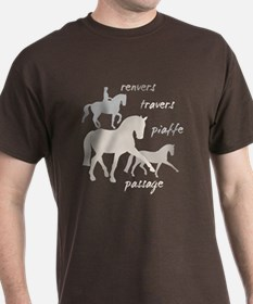 Dressage Movements Trio T-Shirt