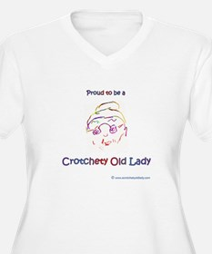 Proud To Be A Crotchety Old Lady Plus Size T-Shirt
