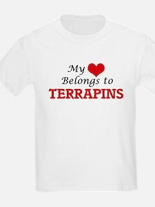 My heart belongs to Terrapins T-Shirt