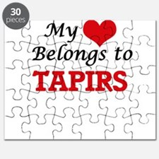 My heart belongs to Tapirs Puzzle