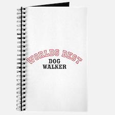 Worlds Best Dog Walker Journal