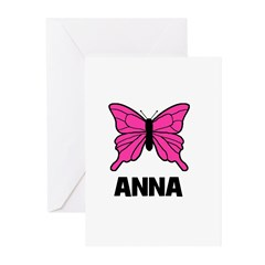 Butterfly - Anna Greeting Cards (Pk of 20)