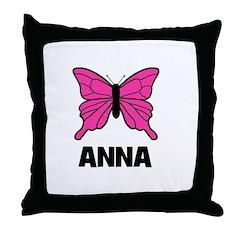 Butterfly - Anna Throw Pillow
