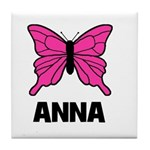Butterfly - Anna Tile Coaster
