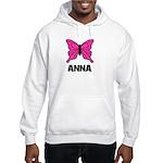 Butterfly - Anna Hooded Sweatshirt