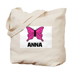 Butterfly - Anna Tote Bag