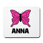 Butterfly - Anna Mousepad