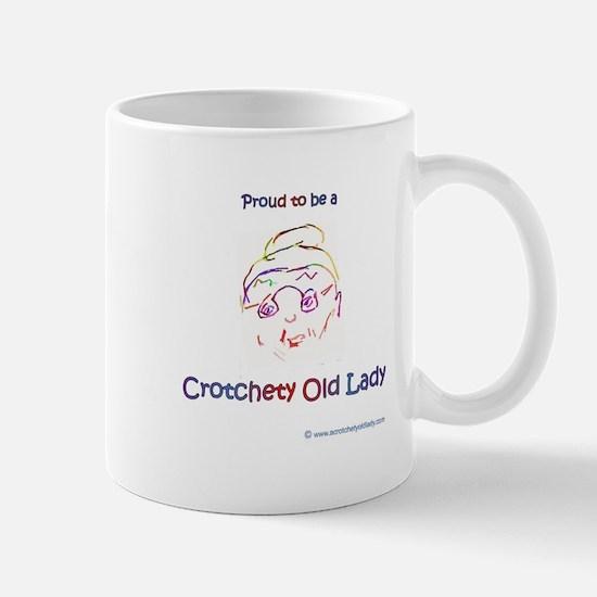 Proud To Be A Crotchety Old Lady Mugs