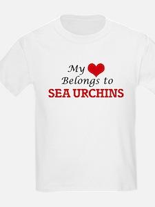 My heart belongs to Sea Urchins T-Shirt