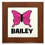 Butterfly - Bailey Framed Tile