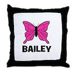 Butterfly - Bailey Throw Pillow
