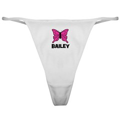 Butterfly - Bailey Classic Thong