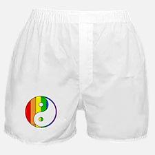 Rainbow Yin Yang Boxer Shorts