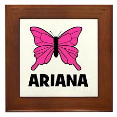 Butterfly - Ariana Framed Tile