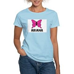 Butterfly - Ariana Women's Light T-Shirt