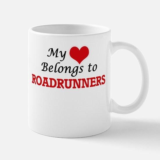 My heart belongs to Roadrunners Mugs