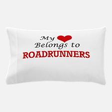 My heart belongs to Roadrunners Pillow Case