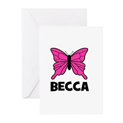 Butterfly - Becca Greeting Cards (Pk of 20)
