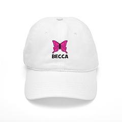 Butterfly - Becca Baseball Cap
