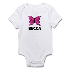 Butterfly - Becca Infant Bodysuit