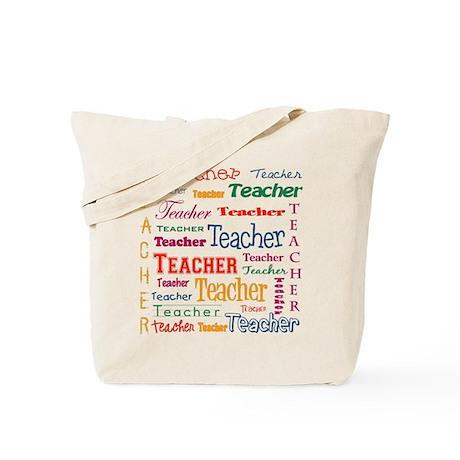 Teacher Teacher Teacher Tote Bag