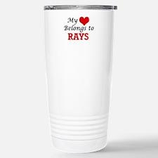 My heart belongs to Ray Travel Mug