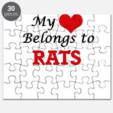 My heart belongs to Rats Puzzle