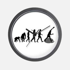 Shot Put Evolution Wall Clock