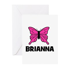 Butterfly - Brianna Greeting Cards (Pk of 20)