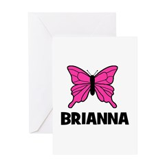 Butterfly - Brianna Greeting Card