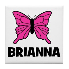 Butterfly - Brianna Tile Coaster